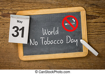 World No Tobacco Day, May 31