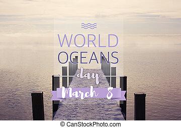World oceans day, june 8th