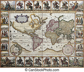 World old map