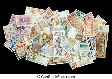 World Paper Money - Collection of all over the world paper...
