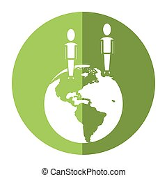 world people community social media communication shadow