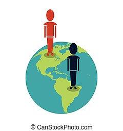 world people community social media communication