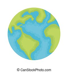 world planet earth water day icon