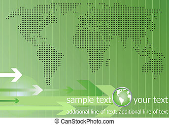 World quick messages, the concept.
