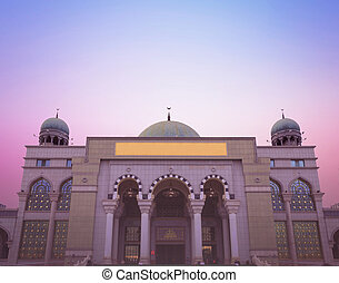 World Religious Day Concept: Beautiful Mosque