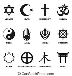 religious sign and symbols - world religious sign and...