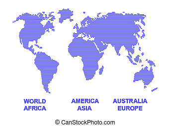 Colorful world geographical map silhouette world silhouette gumiabroncs Image collections