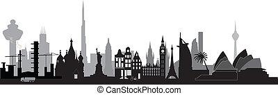 world skyline