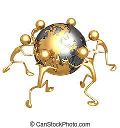 World Struggle - Concept & Presentation Figure 3D