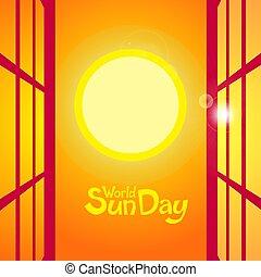 World sun day.