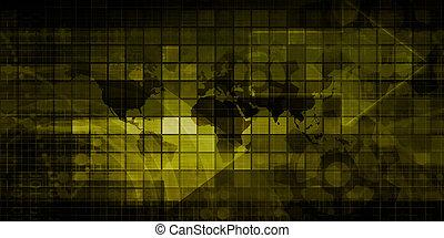 World Technology Background