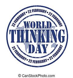 World Thinking Day stamp