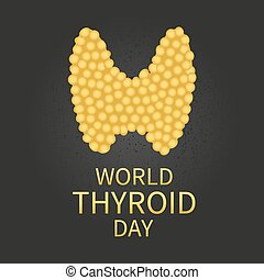 World thyroid day poster
