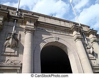 World Trade Center Boston entrance