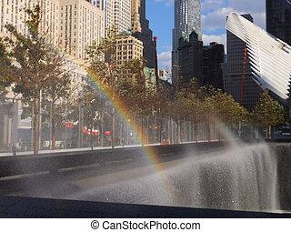 World Trade Center Ground Zero - Memorial Site at World...