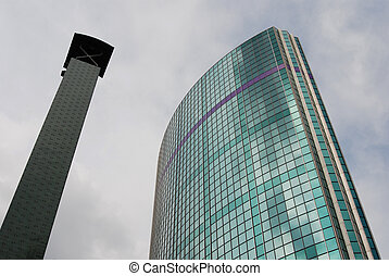 World trade center Rotterdam - The World trade center in the...