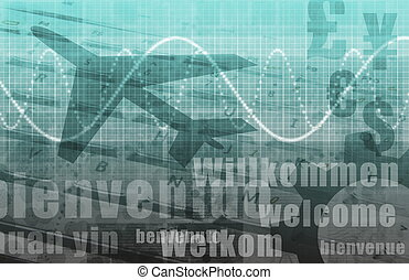 World Travel Airport Background - World Travel Airport as...