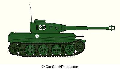 World War 2 German Tank