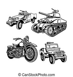 World War 2 Military Vehicles of The United States