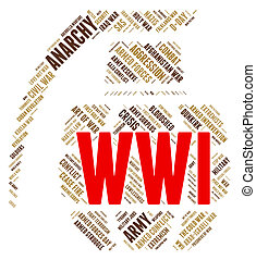 World War I Shows Military Action And Battles
