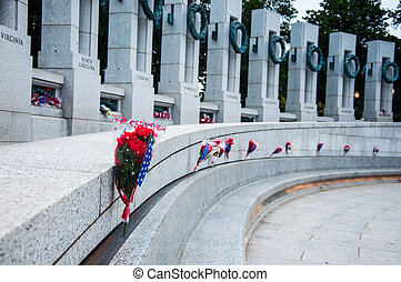 World War II Memorial, USA - WASHINGTON, D.C. - MAY 27,...