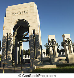 World War II Memorial. - World War II Memorial in Washington...