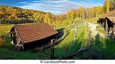 World war II secret partisan hospital deep in Kalnik...