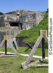 World War Two fortifications - St Malo - France - Old World...