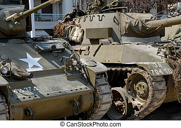 world war two tanks - two world war two tanks with some...