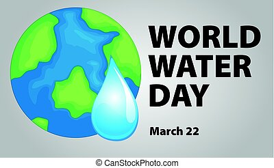 World water day poster design