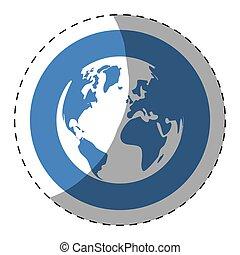 world web technical service icon