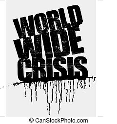 world wide crisis headline
