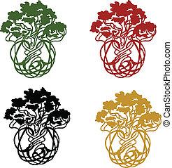 world/life, arbre