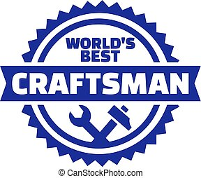 World's best Craftsman emblem