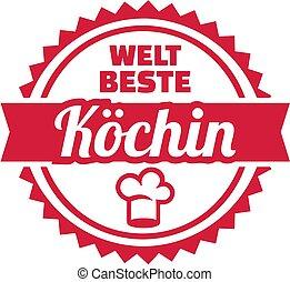 Worlds best female chef german