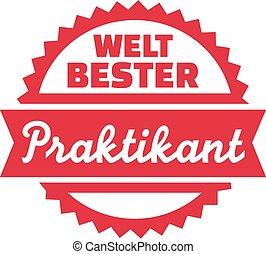 World's best intern - german