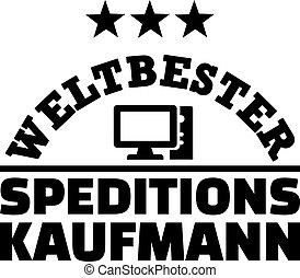 Worlds best male forwarding merchant german - Worlds best...
