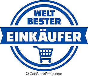 World's best purchaser german button