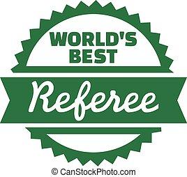 World's best Referee