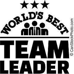 World's best Team Leader