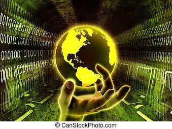 Worldwide information at hand