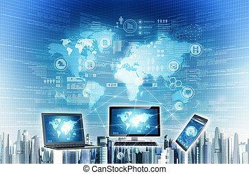 Worldwide internet connection