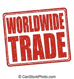 Worldwide trade stamp