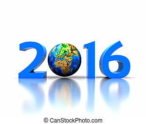 New Year - 2016 - Worldwide..celebrates the New Year - 2016
