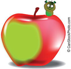 Worm in the Apple