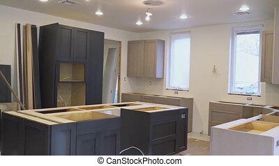 worm's, vue cuisine, maison, nouveau, amélioration, remodeler, installed