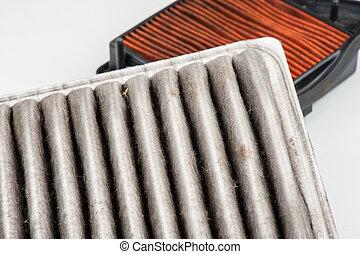 worn air filter