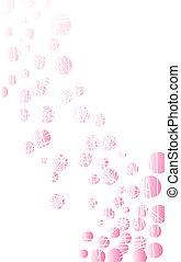 Worn Background Texture - A pink background with a grunge FX...