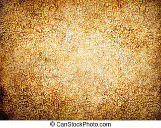 Worn cracked canvas - Old chapped canvas background.