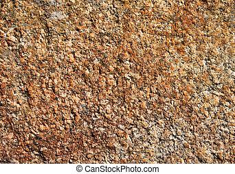 Worn cut granite natural texture background.